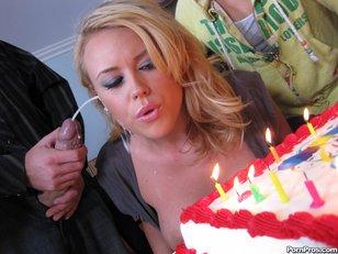Codi Carmichael Birthday Cum Surprise