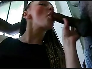 Chick With Dreadlocks Gets Blacked