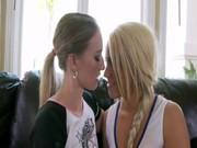 Lesbian Cheerleaders Tribbing.