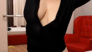 Big Boobed Hottie Is Dancing On Her Bed Softcore