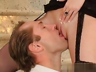 Beautiful  Blonde Babe Sex On Stair