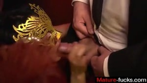 Find Her On MATURE-FUCKS.COM – MAGMA FILM German Masquerade Swingers