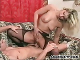 Blonde Amateur Girlfriend Sucks And Fucks With Facial Shot