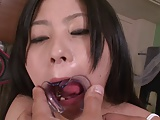 Brunette Teen Swallow Cum Wearing A Mouth Opener