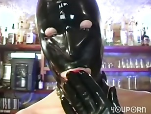 Two Masked Fetish Lovers Get Off