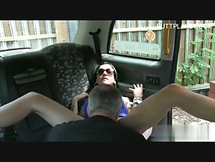 Brunette Slut Hard Sex In Car
